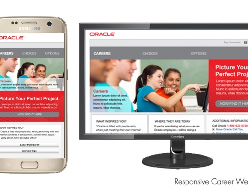 Oracle Website Graphics